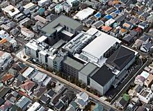 江古田新キャンパス鳥瞰図